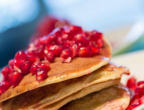 Cukormentes, laktózmentes amerikai palacsinta gyümölcskavalkáddal