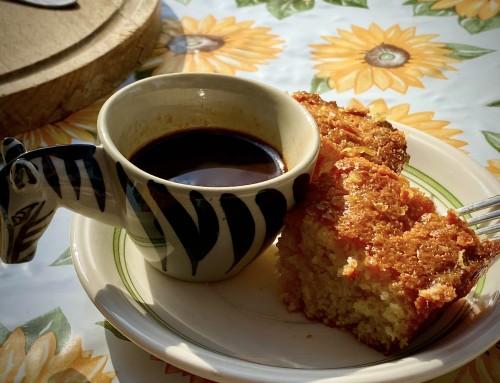 Napfény süti – avagy Görög citromos süti